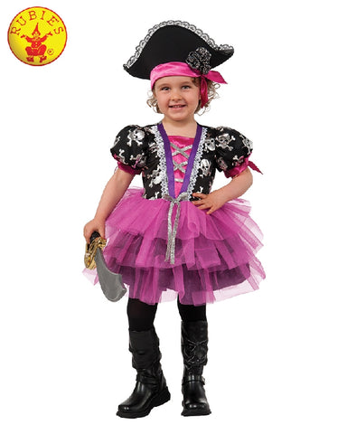 Pink Pirate Princess Girls Costume - Salsa and Gigi Australia 610845