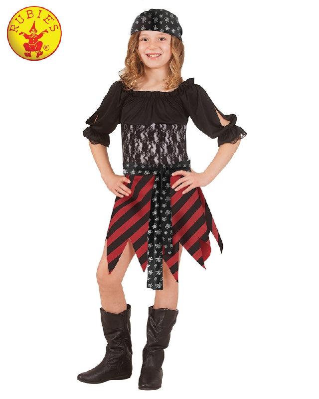 Pirate Girl Tween Costume - Salsa and Gigi Australia 7040