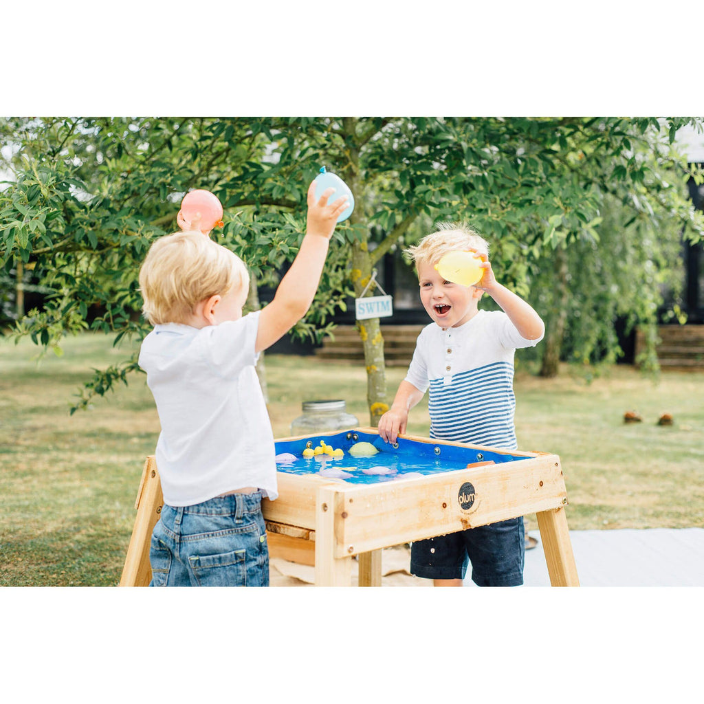 Plum Build and Splash Wooden Sand and Water Table - Salsa and Gigi Australia - Kids Outdoor Play 01