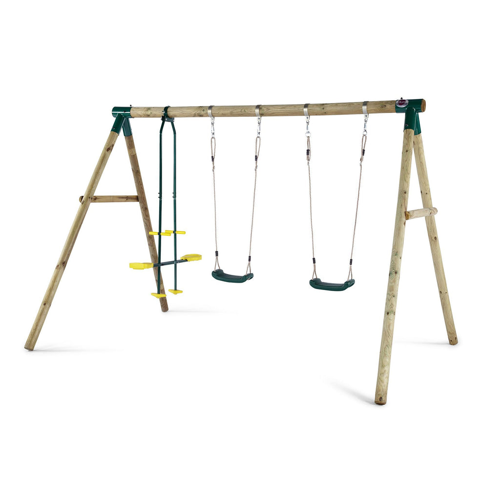 Plum Colobus Wooden Swing Set - Salsa and Gigi Australia 01