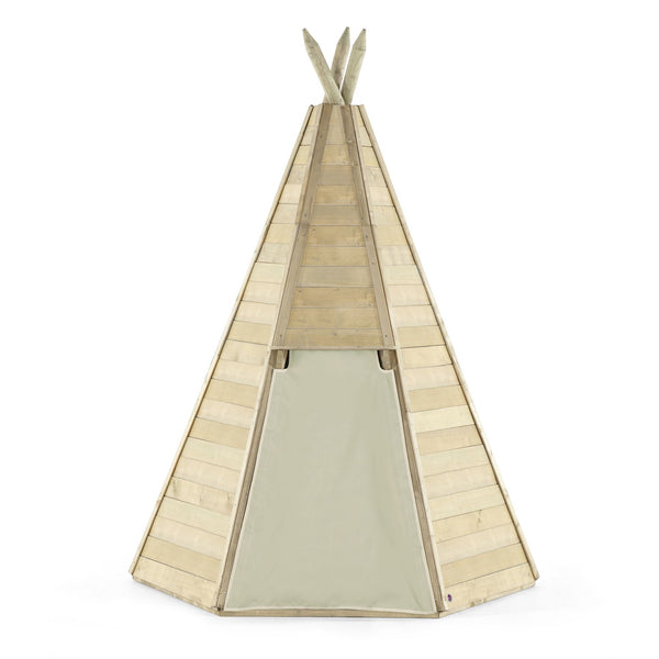 Plum Great Wooden Teepee Hideaway - Salsa and Gigi Australia - Kids Outdoor Play 01