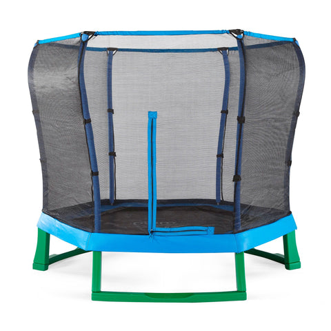 Plum® 7ft Junior Trampoline Spring Safe® Blue - Kids Outdoor Play - Salsa and Gigi Australia