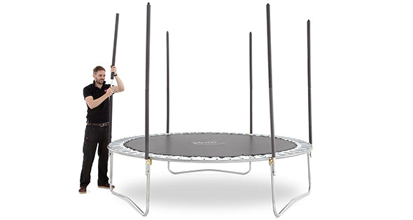 Plum® 10ft Space Zone Spring Safe®  Trampoline - Kids Outdoor Play - Salsa and Gigi Australia