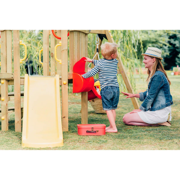 Plum Toddler Climbing Frame with Baby Swing and Kids Slide - Salsa and Gigi Australia 01