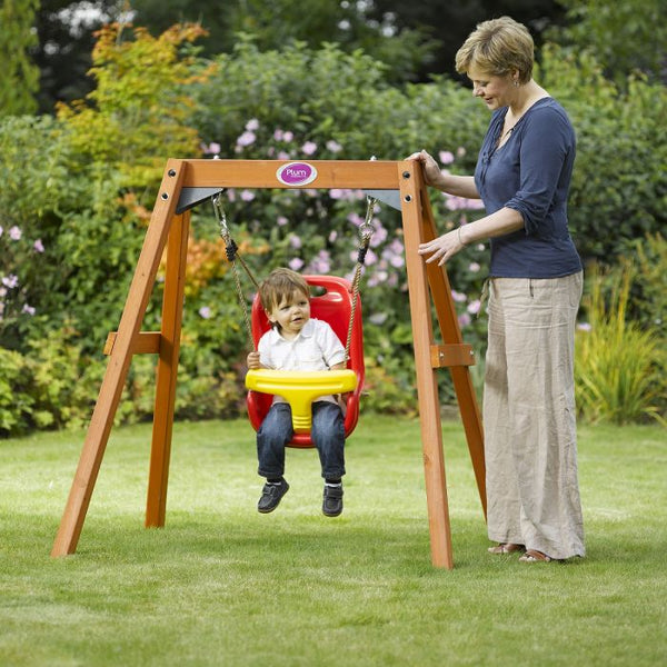 Plum Wooden Baby Swing Set - Salsa and Gigi Australia 01