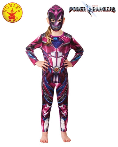 Power Rangers Pink Girls Classic Costume - Salsa and Gigi Australia 7801