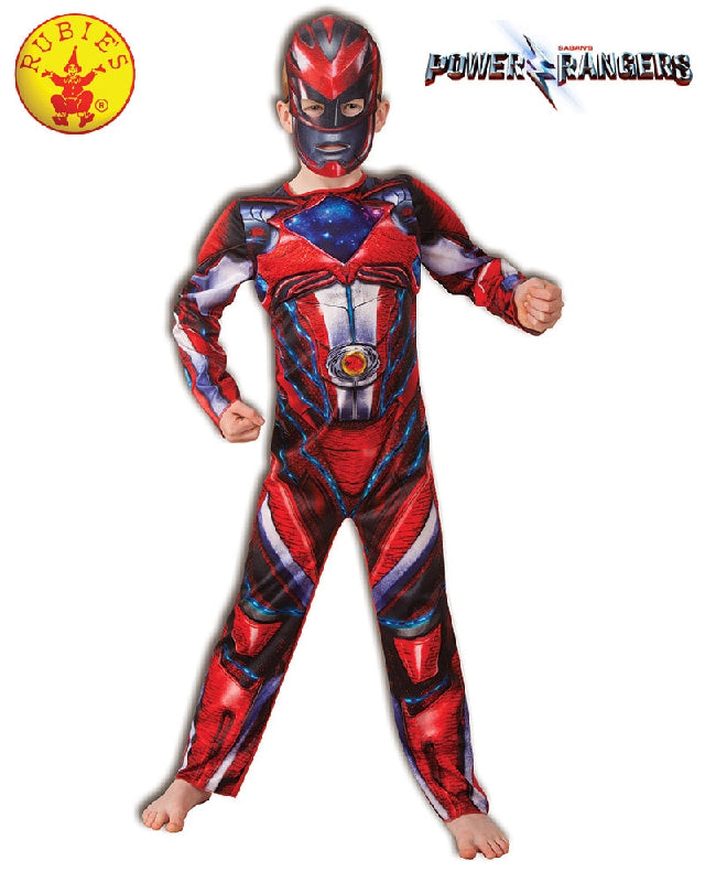 Power Rangers Red Fusion Boys Costume - Salsa and Gigi Australia 7593