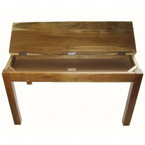 Hardwood Study Desk in Acacia Wood - Salsa and Gigi