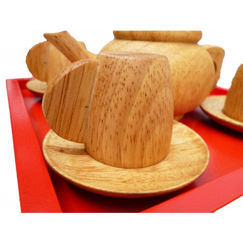 Japanese Wooden Tea Set - Salsa and Gigi