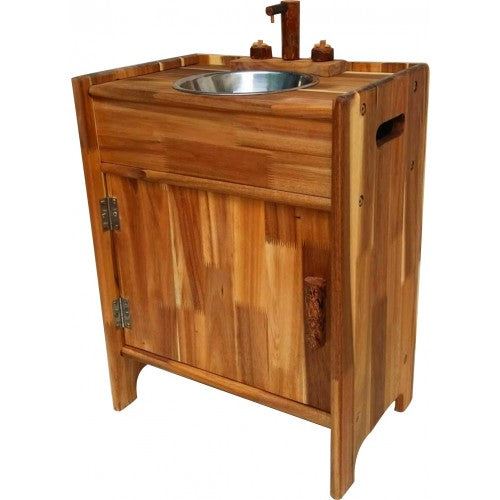 Natural Wooden Sink - Salsa and Gigi