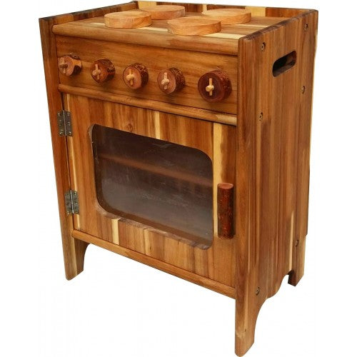 Natural Wooden Stove - Salsa and Gigi
