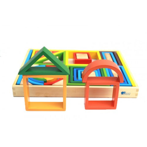 Q Toys Rainbow Nesting Blocks - Salsa and Gigi Australia