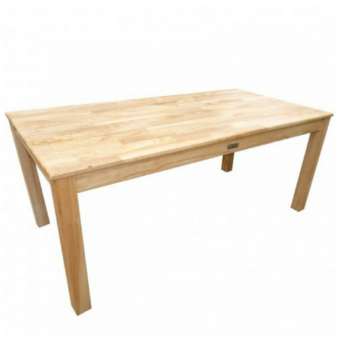 Q Toys Rubberwood Rectangle Table 120cm - Salsa and Gigi Australia