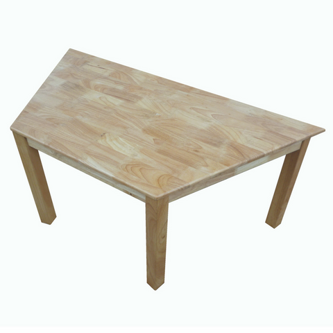 Q Toys Rubberwood Trapezoidal Table - Salsa and Gigi Australia