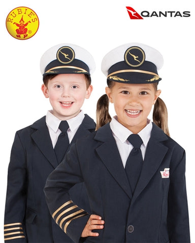 Qantas Captain's Pilot Hat Costume Child - Salsa and Gigi Australia