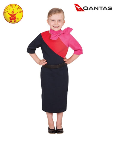Qantas Female Cabin Crew Uniform Child - Salsa and Gigi Australia