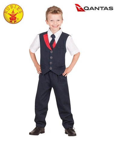 Qantas Male Cabin Crew Uniform for Children - Salsa and Gigi Australia 7638