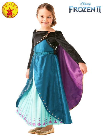 Queen Anna Frozen 2 Premium Girls Costume - Salsa and Gigi Australia 9108 01