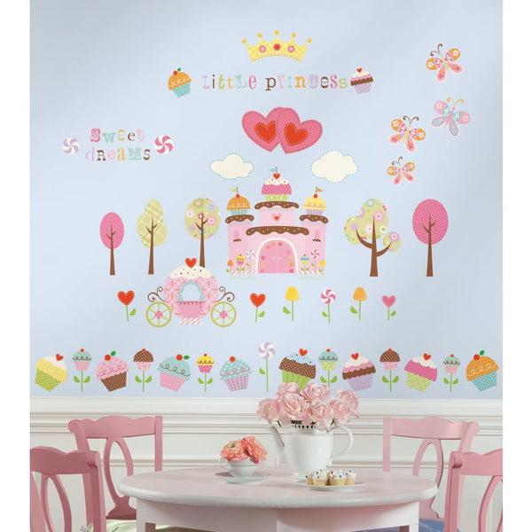 Happi Cupcake Land Stickers and Wall Decals