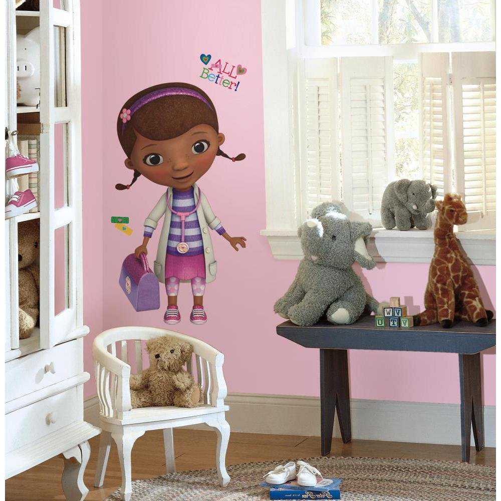 Doc McStuffins Peel & Stick Giant Wall Decal