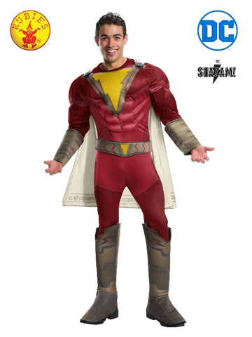 Shazam Deluxe Adult Costume - Salsa and Gigi Australia