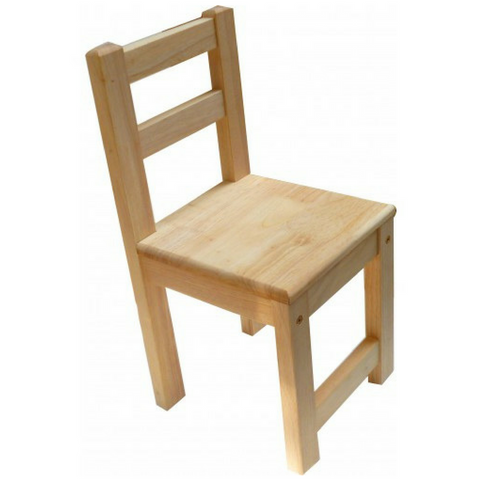 Q Toys Rubberwood Stacking Chair - Salsa and Gigi