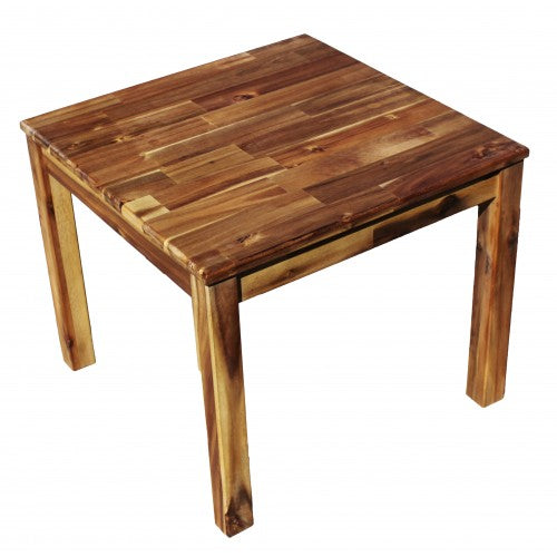 Acacia Hardwood Wooden Square Table - Salsa and Gigi
