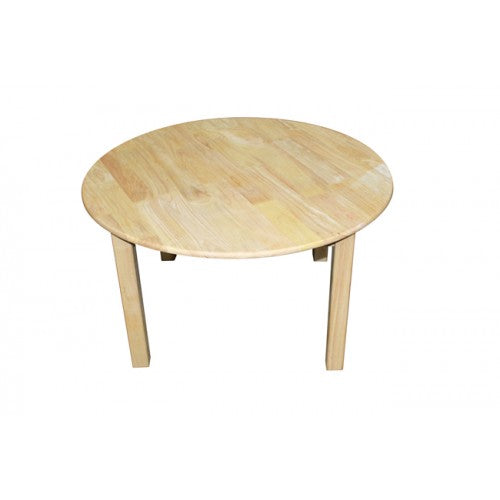 Rubberwood Wooden Table 75cm Q Toys - Salsa and Gigi Australia