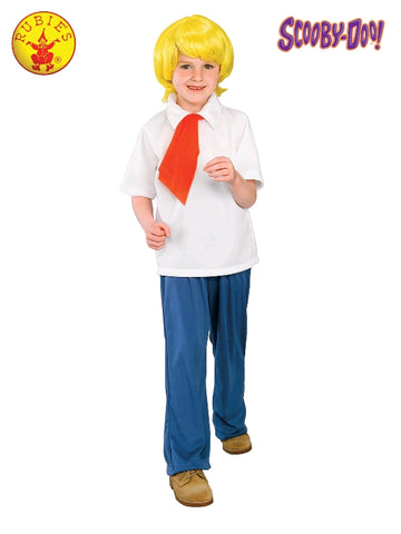 Scooby Doo Fred Jones Deluxe Child Costume - Sizes S, M, L
