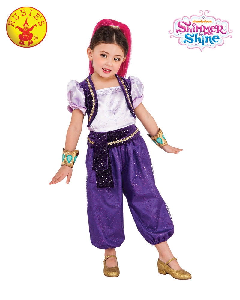 Shimmer and Shine SHIMMER Girls Costume - Salsa and Gigi Australia 8926