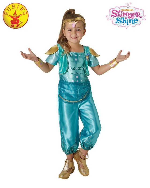 Shimmer and Shine SHINE Blue Girls Costume - Salsa and Gigi Australia 5101