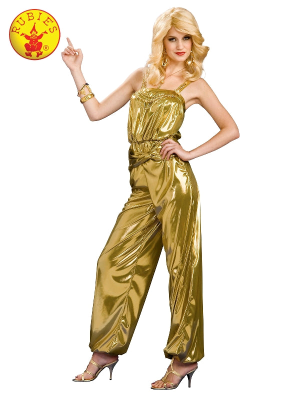 Solid Gold Ladies Deluxe 60's Costume - Salsa and Gigi Australia 889477