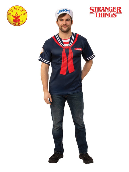 Stranger Things Steve Scoops Ahoy Adult Costume - Salsa and Gigi Australia 701028 01