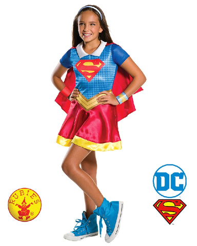 SuperGirl DC Superhero Classic Girls Costume - Salsa and Gigi Australia 3008
