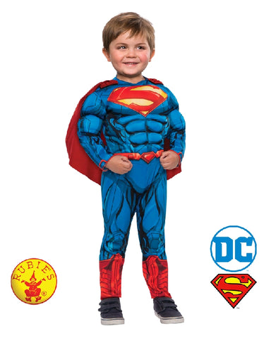 Superman Muscle Chest Boys Costume DC Superhero - Salsa and Gigi Australia 510232