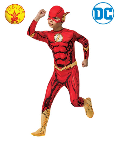 The Flash Classic Muscle Chest Boys Costume - Salsa and Gigi Australia 0177D