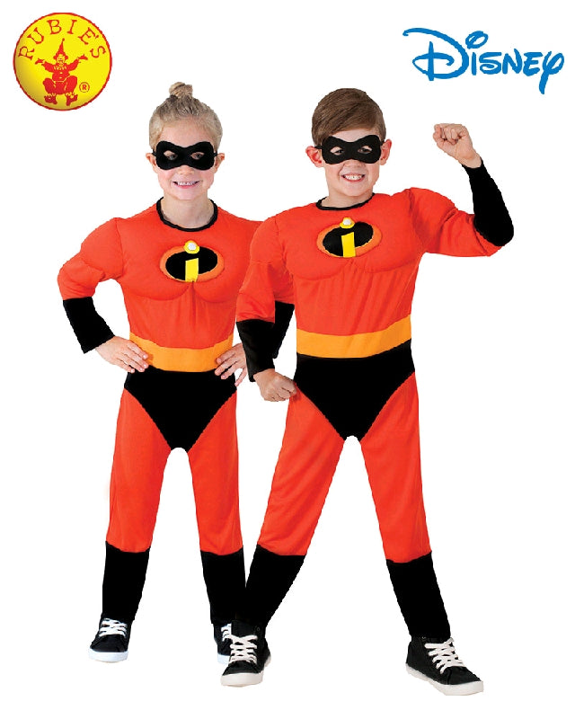 Incredibles 2 Deluxe Child Unisex Costume - Size S, M - Salsa and Gigi