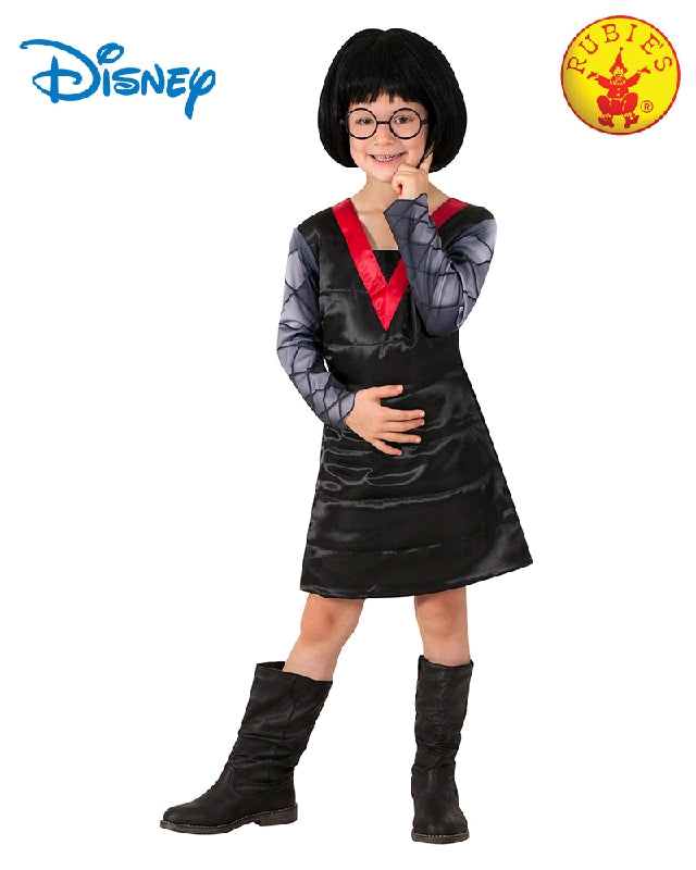 Edna Mode Deluxe Girls Costume - Size 4-6 years - Salsa and Gigi