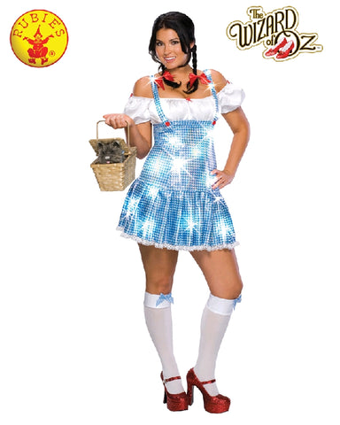 The Wizard of Oz Dorothy Full Figure Ladies Costume - Salsa and Gigi Australia 17518