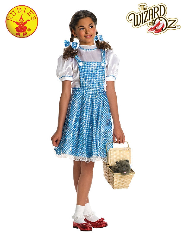 The Wizard of Oz Dorothy Sequin Girls Dress Costume - Salsa and Gigi Australia 882812