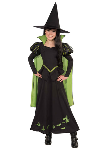 The Wizard of Oz Wicked Witch of the West Girls Costume - Salsa and Gigi Australia 886489