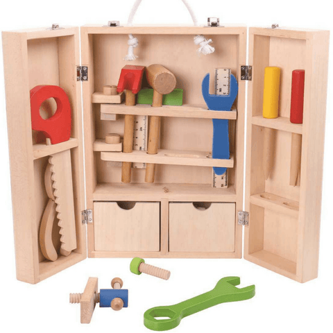 Tooky Toy Wooden Carpenter Set - Salsa and Gigi Online Store