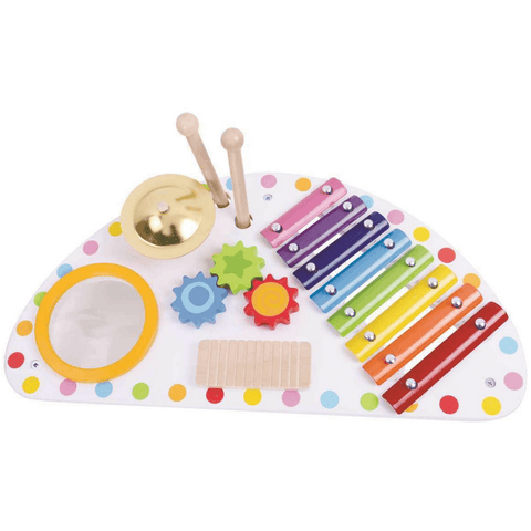 Kinder Kids Music Centre Xylophone Set - Salsa and Gigi