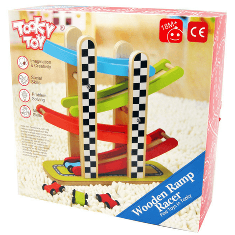 Tooky Toy Wooden Ramp Racer - Salsa and Gigi Online Store