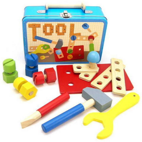 Wooden Tools in a Tin by Kaper Kidz - Salsa and Gigi Online Store