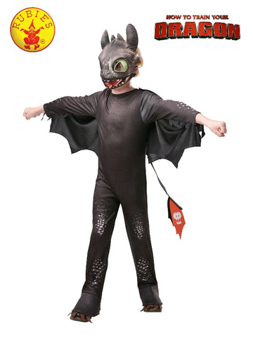 Toothless Night Fury Deluxe Child Costume How to Train Your Dragon 3 The Hidden World - Salsa and Gigi Australia 641470