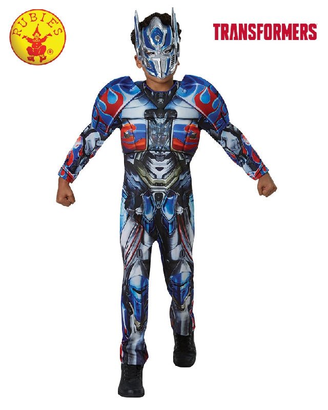 Transformers Optimus Prime Deluxe Boys Costume - Salsa and Gigi Australia 8019