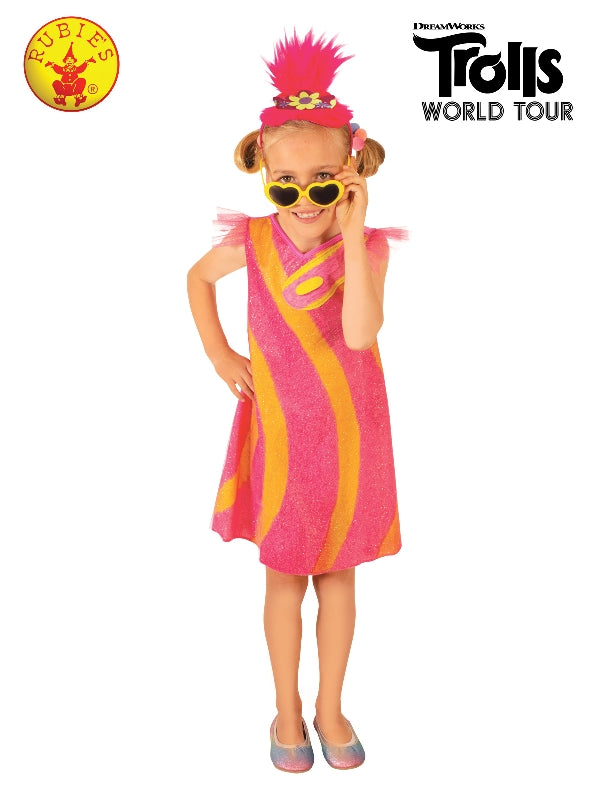 Trolls 2 Poppy Deluxe Pop Costume Child - Salsa and Gigi Australia 9175 01