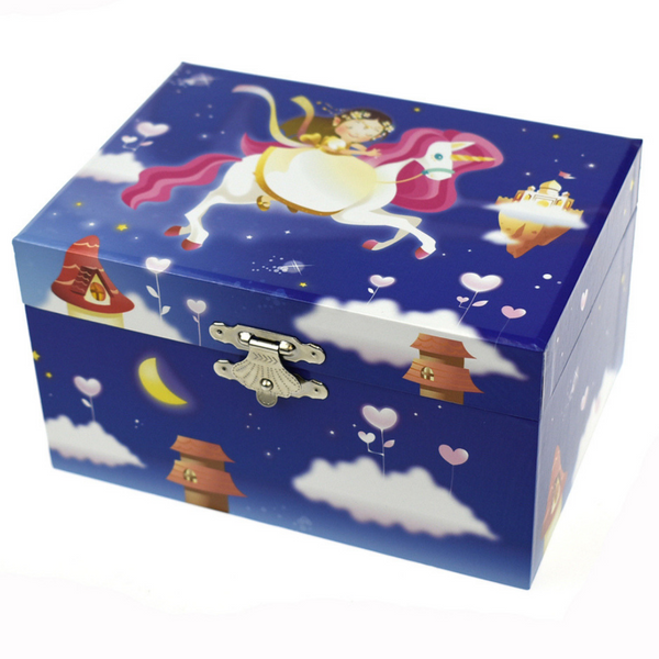 Unicorn Keepsake Music Box - Salsa and Gigi Australia