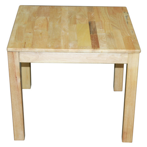 Q Toys Rubberwood Square Table - Salsa and Gigi